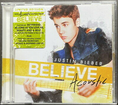 AU20 • Buy Justin Bieber - Believe Acoustic Limited Edition CD - Free Shipping