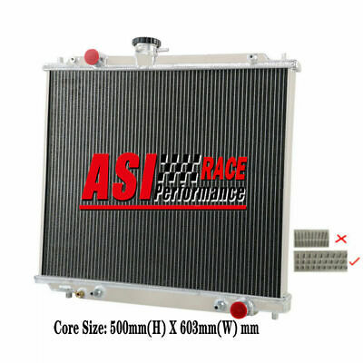 AU199 • Buy 3row Alum Radiator For 1994-1999 98 Mitsubishi Montero Pajero Nj Nk Nl 2.8l 4m40