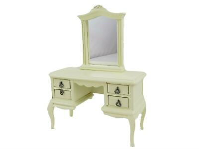 £26.99 • Buy Dolls House French Style Cream Dressing Table Mirror Miniature Bedroom Furniture