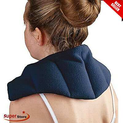 £14.85 • Buy Heat Pad Therapy Neck Shoulder Back Thermal Microwaveable Bag Warmer Wheat Pain