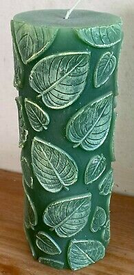 £19.50 • Buy Latex Mould For Making This Lovely Leaf Embossed Candle