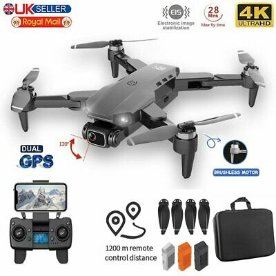 5G GPS Drone 4K Dual HD Camera Professional Aerial Photography FPV Selfie RC RTF • 137.45£