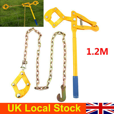£23.72 • Buy 1.2M Chain Strainer Monkey Cattle Fence Stretcher Tensioner Repair Pull Fence UK