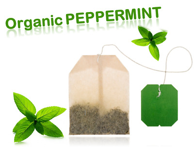£2.99 • Buy 🌿Organic Peppermint Tea Bags🌿Dried Peppermint Leaves🌿Natural Unbleached Paper