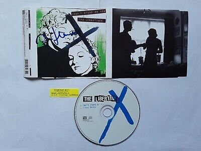 HAND-SIGNED (by JOHN HASSALL) THE LIBERTINES  CAN'T STAND ME NOW  2004 CD SINGLE • 10£