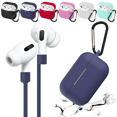 AU6.55 • Buy For Apple Airpods 1st 2nd Pro Accessories Silicone Case Shockproof Strap Cover