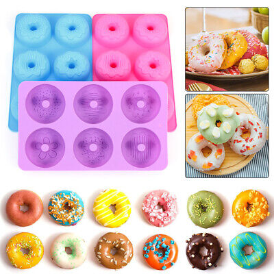 AU24.60 • Buy Pastry Tools Doughnut Baking Tray Baking Pans Donut Pan Silicone Donut Mold