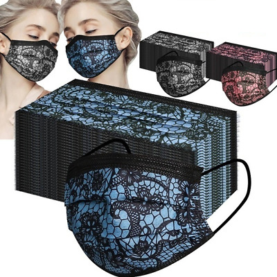 Disposable Face Mask Surgical 3 Ply Mouth Guard Cover Face Masks Protection • 6.99£