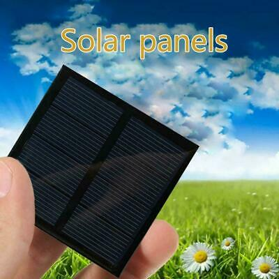 AU3.31 • Buy 60*60mm Mini Solar Panel Module For Battery Cell Phone 220MA Charger 2V DIY I2J1
