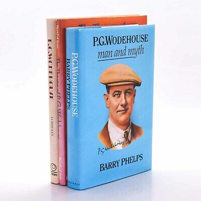 £25 • Buy Collection Of P.G. Wodehouse Biographies VARIOUS Various 1979-1992 1st Ed