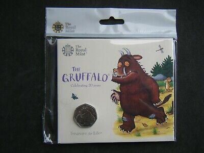 £10.99 • Buy 2019 Royal Mint The Gruffalo And Mouse BU 50p Fifty Pence Coin Pack Sealed