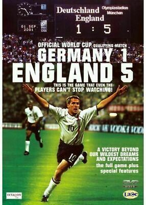 £2.90 • Buy Germany 1 England 5 (DVD, 2001) NEW & FACTORY SEALED FAST DISPATCH
