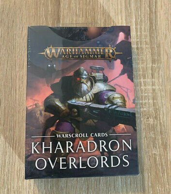 AU62.92 • Buy Kharadron Overlords Warscroll Cards Warhammer Age Of Sigmar Warcry Dwarf Cities