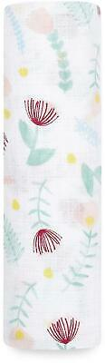 £10.99 • Buy Aden + Anais ESSENTIALS MUSLIN SWADDLE BLANKET FLORAL FAUNA DITSY FLORAL BN