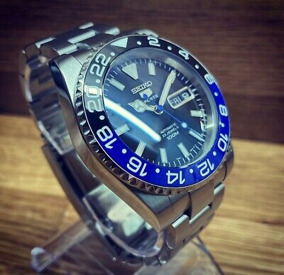 $ CDN345.71 • Buy Seiko Submariner Batman Mod Nh36 Automatic Watch Ceramic Bezel Sapphire Crystal