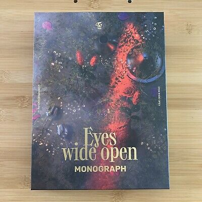 Kpop Twice Official Eyes Wide Open I Can't Stop Me Monograph Photobook • 15.95£