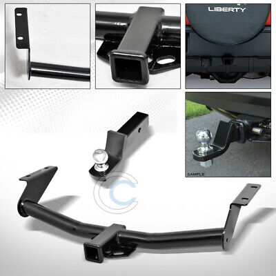 $146.95 • Buy Class 3 Trailer Hitch W/2  Loaded Ball Bumper Tow Kit For 02-07 Jeep Liberty SUV
