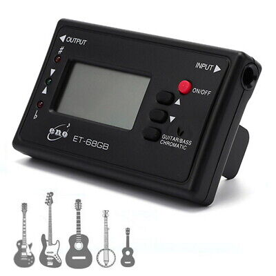 $ CDN12.86 • Buy Chromatic Tuner For Guitar Electric Bass Mandolin Ukulele Violin Banjo Cello