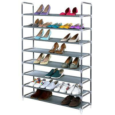 £9.45 • Buy Large Capacity 8 Tier Shoe Rack Stackable Organiser For 40 Pairs Shoes UK