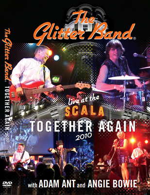 £12.99 • Buy The Glitter Band Together Again Live At The Scala 2010 DVD Adam Ant Angie Bowie