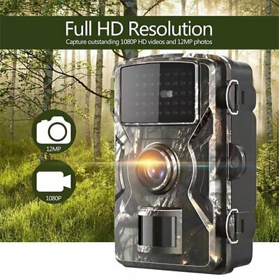 £43.41 • Buy 12MP Hunting Trail Camera HD 1080P Wildlife Scouting Night Vision Outdoor IP66