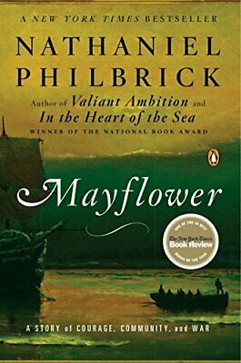 £3.10 • Buy Mayflower: A Story Of Courage, Community, And War,Nathaniel Philbrick