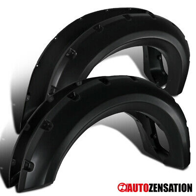 AU145.49 • Buy For 2009-2014 Ford F150 Matte Black Pocket Style Fender Flares Wheel Protector