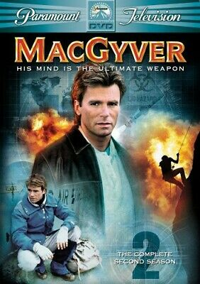 $14 • Buy MacGyver - The Complete Second Season (DVD, 2005, 6-Disc Set)