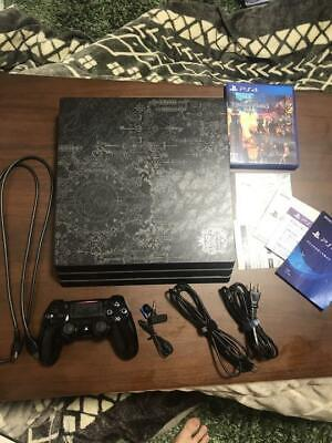 AU761.13 • Buy PS4 Pro KINGDOM HEARTS III LIMITED EDITION Game Console 1TB PlayStation