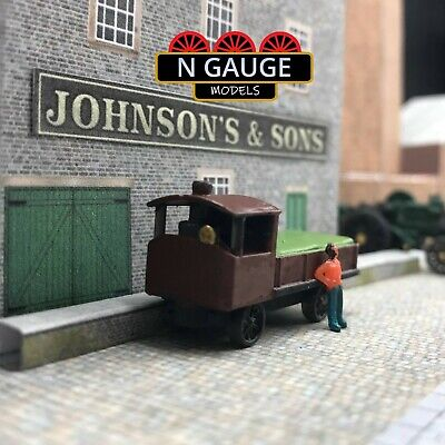 £11.99 • Buy Steam Wagon N Gauge Scale 1:148 (Ready To Go!) Haulage Lorry / Truck