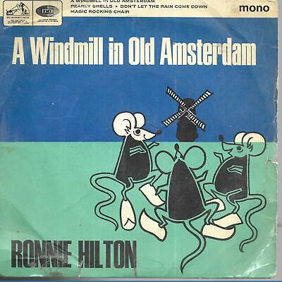 £3.99 • Buy Ronnie Hilton A Windmill In Old Amsterdam UK 45 7  EP +Picture Sleeve
