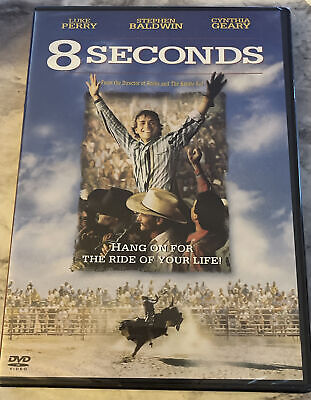 AU12.88 • Buy 8 SECONDS Widescreen+Full Screen DVD Rodeo/Bull Riding LUKE PERRY New & Sealed