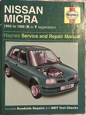 Haynes Nissan Micra Service And Repair Manual • 6£