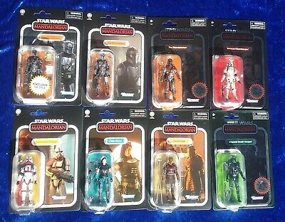 $ CDN123.06 • Buy Star Wars The Vintage Collection | 8 X 3.75  Kenner The Mandalorian | Case Box