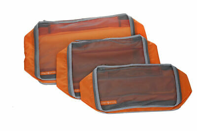 AU18.99 • Buy 3pc Clarisonic Mesh Packing Cubes, Travel Pouch Luggage Organiser, Storage Bag