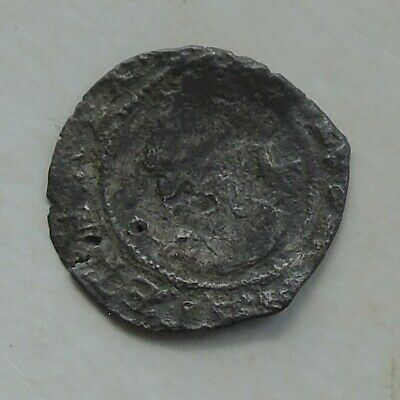 £14 • Buy Charles I Stuart Period Hammered Silver Penny 13mm 0.36g, Twice Holed