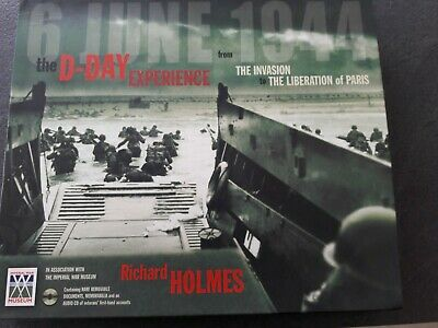 £6.50 • Buy The D-Day Experience - War Time Book By Richard Holmes With Audio CD & Documents