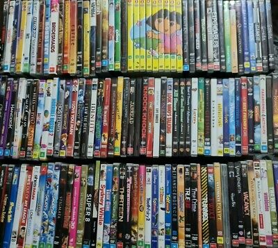 AU5.50 • Buy Variety Of DVD's Available Used Movies TV Series Seasons Free Post AUS Family