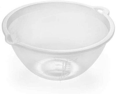 £3.49 • Buy Large Sized Food Preparation Clear Mixing Kitchen Cooking Bowl 4 Litre (1 Pack)
