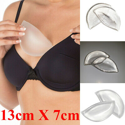 £6.99 • Buy Chicken Fillets Silicone Breast Enhancers Cleavage Boost Gel Bra Inserts Pads