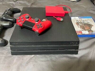 AU400 • Buy PS4 Pro 1tb Consol 3 Controllers + Games + 2Tb External Storage