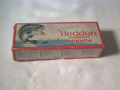 $ CDN12.54 • Buy Vintage Old Fishing Lure Box Only Heddon Bass Up 9752 Vamp Spook Box