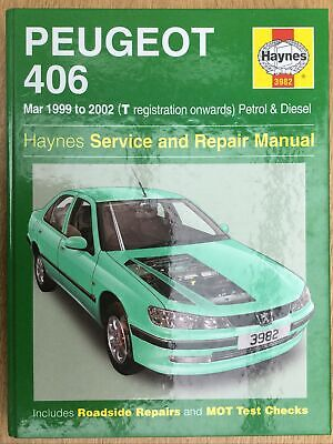 Haynes Peugeot 406 Service And Repair Manual • 6£