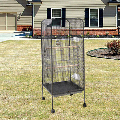 £74.95 • Buy Extra Large Bird Parrot Cage Moving Canary Parakeet Cockatiel Budgie Play Stand