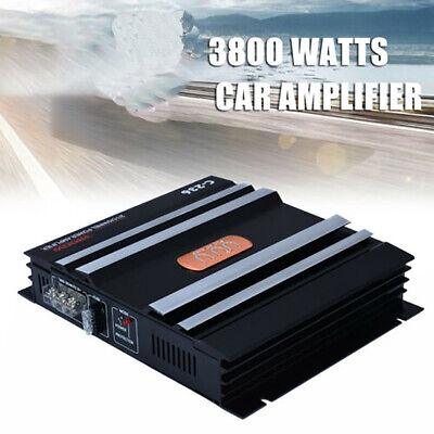 AU104.27 • Buy 2 Channel Home Automobiles Audio Car Amplifier Electronics High Power Stereo