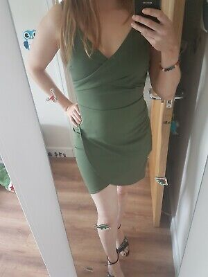 £4.50 • Buy Green Mini Dress Small New With Tags
