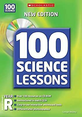 £3.58 • Buy 100 Science Lessons For Year Reception With CD-Rom, Beasley, Georgie, Used; Good