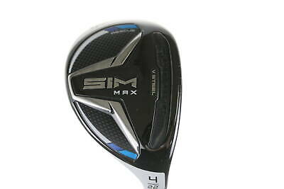 AU216.45 • Buy TaylorMade SIM Max 4 Hybrid 22° Regular Right-Handed Graphite #24371 Golf Club
