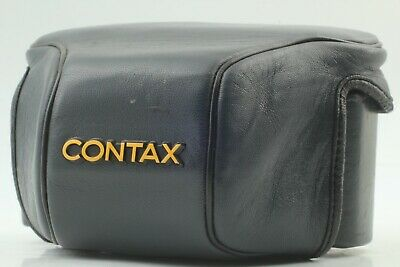$ CDN61.39 • Buy [ Exc+5 ] Contax Leather Case GC-110 & GC-111 For Contax G1 From JAPAN 162