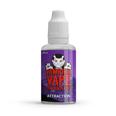 £9.25 • Buy Vampire Vape Attraction Concentrate +60 More Flavours  30ml/10ml Cheapest